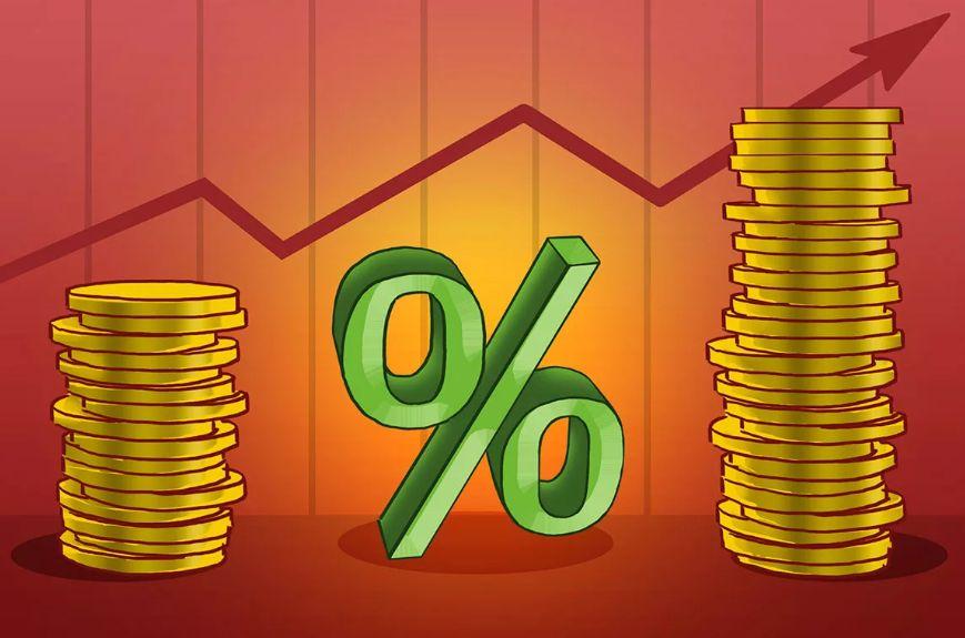 Средняя процентная ставка по кредитам