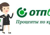 ОТП банк ставки по кредитам