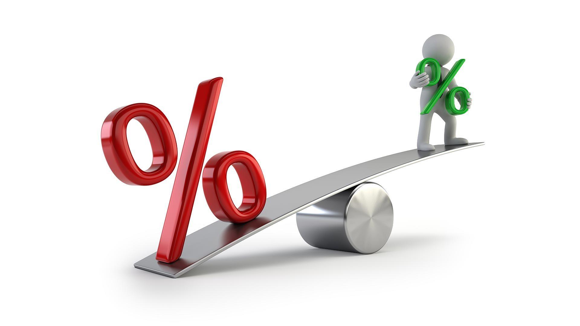 Где взять кредит с маленьким процентом